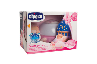 chicco night light first dreams goodnight moon musical pink cot activity panel. Black Bedroom Furniture Sets. Home Design Ideas
