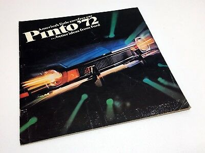 1972 Ford Pinto Brochure