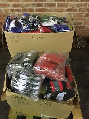 sports socks various sizes and brands