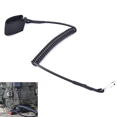 Airsoft Tactical Single Point Pistol Spring Sling Quick Release Hunting Strap 5I