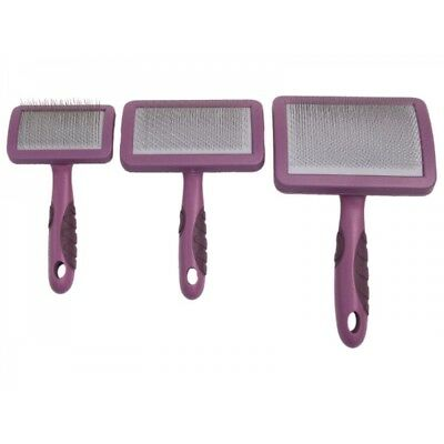 Rosewood Soft Protection Salon Slicker Brush Large Cat & Dog Grooming
