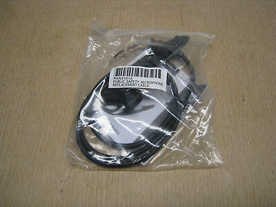 "New OEM Motorola RKN4101A HT750 HT1250 Radio Microphone 18"" Replacement Cable"
