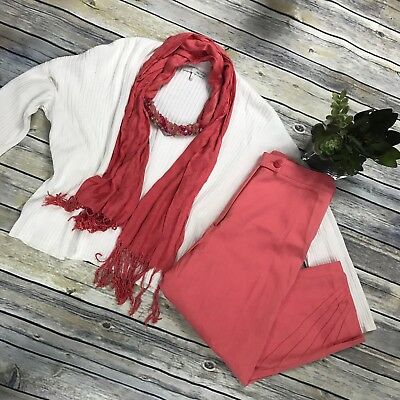 3 Pcs Women's Clothing Lot Fall Outfit Size Small Oak And Fort Cropped Sweater