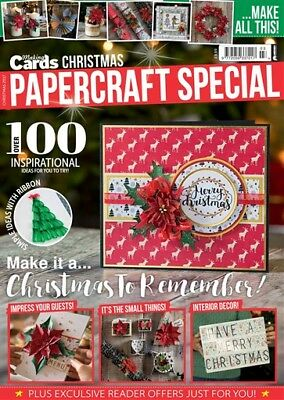 Making Cards Magazine CHRISTMAS 2017 PAPERCRAFT SPECIAL EDITION - with CD/Ribbon