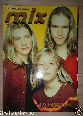 Hanson Ricky Martin Take5 Thai Magazine Rialto Steps Placebo Billie Aaron Carter