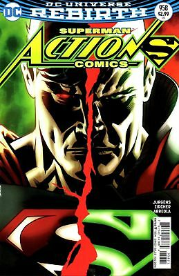 Action Comics #958 Variant (2016) 1St Print Bag & Boarded  Dc Comic