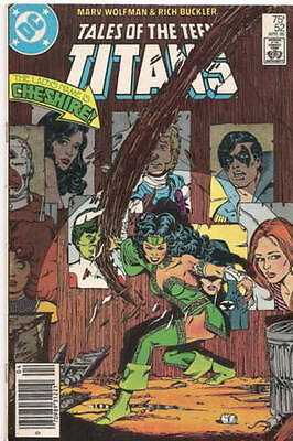 DC Comics Tales of the Teen Titans #52  Who is Donna Troy April 1985-nrmint