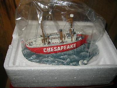 The Chesapeake Light Vessel By Anchor Bay #116 Harbour  Lights (1997) Mib