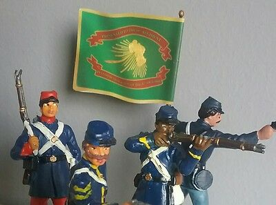 ACW  Union troops Toy soldiers from different manufacturers and epochs.