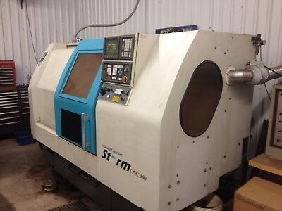 Clausing Colchester Storm Big Bore CNC LATHE - From Haas CNC Shop
