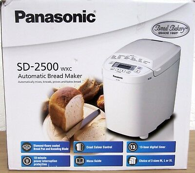 Panasonic SD-2500 Automatic Bread Maker with Gluten Free Setting