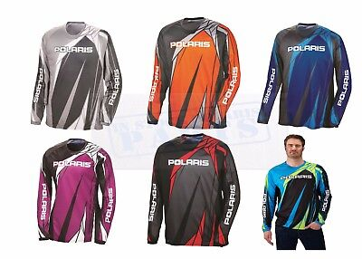 2018 Polaris Oem Atv Riding Jersey Rzr Sportsman General - All Sizes Colors
