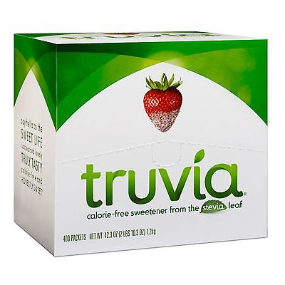 400 Truvia Calorie Free Packets  FREE SHIPPING US ONLY