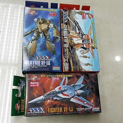 --free ship--MACROSS ROBOTECH VALKYRIE VF-1D 1J 1A GERWALK fighter MODELKIT*3pcs