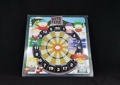 New Sealed Comedy Central South Park Magnetic Dartboard