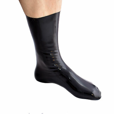 Latex Gummi Rubber kurze Socken Socks Domina Fetisch