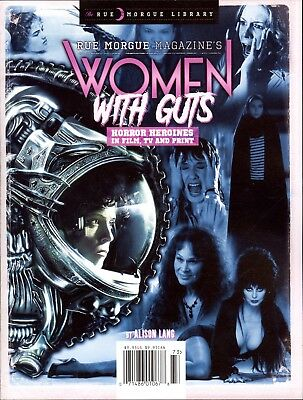 Rue Morgue Magazine's Women With Guts Horror Heroines in Film TV and Print 2017