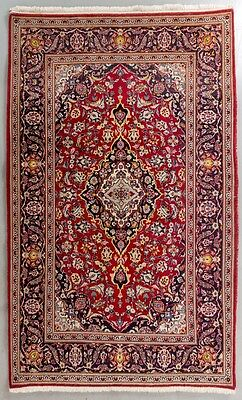 Persian Rug Carpet Kashan Hand knotted Antique