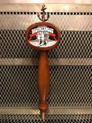 Chris Robinson BROTHERHOOD Anchor STEAM ~ RARE ~ Beer Tap Handle Black Crowes