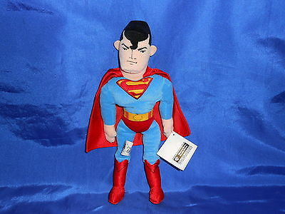 Superman Bean Bag Figure Warner Brother's Studio Store Exclusive with Tags 1998