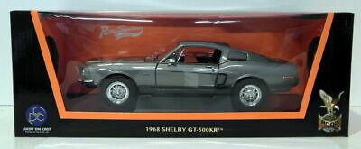 Lucky Diecast 1/18 Scale - 92168 1968 Shelby GT-500KR Dark Grey Metallic
