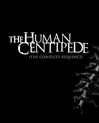 Human Centipede: The Complete Sequence (2015, Blu-ray NUEVO)3 DISC SE (REGION A)