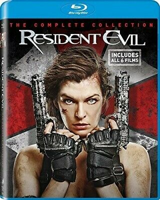 Resident Evil / Resident Evil: Afterlife (2017, Blu-ray NUEVO)6 DISC  (REGION A)