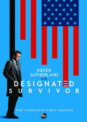 Designated Survivor: Complete Season 1 (2017, DVD NUEVO)2 DISC SET (REGION 1)