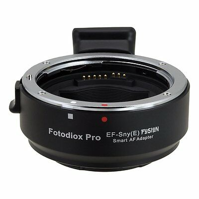 Fotodiox EF-Sny(E) Smart AF Lens Mount Adapter Canon EOS EF EF-S to Sony E Mount