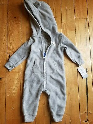 cddefdf4f5ad TWO PAIR OF Carters 6 month zip up pajamas boys -  7.00