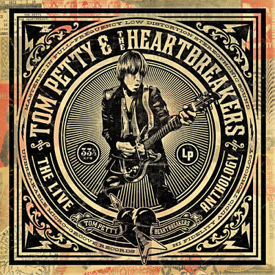 TOM PETTY & HEARTBREAKERS - LIVE ANTHOLOGY (4 Disc set)  (CD) Sealed