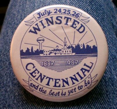 """1887-1987 Winsted, Mn. Centennial And The Best Is Yet To Be 3"""" Cello Festival"""