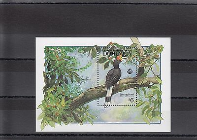 Timbre Stamp  Bloc Dominica  Y&t#227  Oiseau Bird  Neuf**/mnh-Mint 1992 ~A05