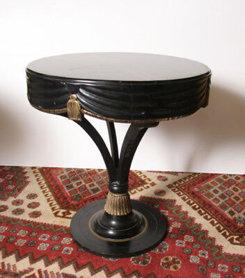Black Sash Side Table