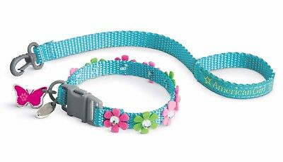 American Girl Blossoms Collar and Leash for Pets