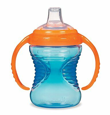 Munchkin Mighty Grip Trainer Cup, 8 Ounce (Orange/Blue)