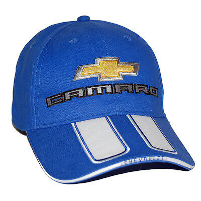 2010 - 2017 Chevrolet Camaro SS Rally Blue Hat Cap SHIPPED IN A BOX FREE