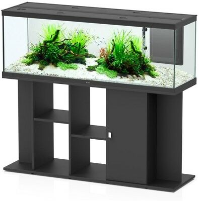 Contemporary Deluxe Aquarium Set Cabinet Stand Furniture With LED 150 x 45 New