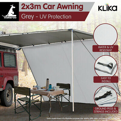 Wallaroo 3m x 2m Awning Extension Tent Camper Trailer 4WD 4X4 Camping Car