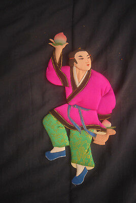 """Vintage Chinese Oshie Doll #1 - 10"""" Textile 3D - Han Hsiang Tzu"""