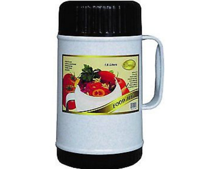 Vacuum Insulated Food Jug Flask Jar Wide Mouth Thermos 54.1 FL Oz Hot/Cold 1.6-L