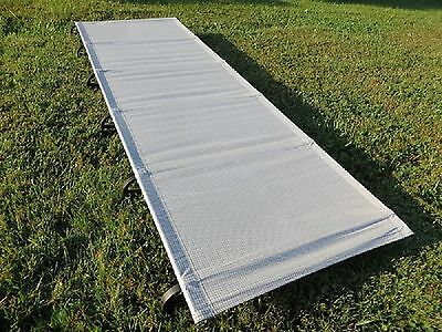 NEW Luxurylite ultralight camp cot bed only 1250g sleeps 147kg 23st 325lbs