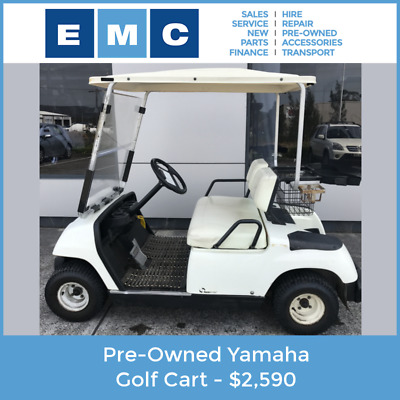 Pre-Owned Yamaha Electric Golf Cart