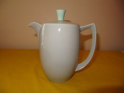 BRANKSOME Grey&Green COFFEE POT 1.25Pt approx, hardly used in VGC  (0.45/187)