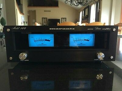 New!  Marantz 140 Black laser etched faceplate ONLY