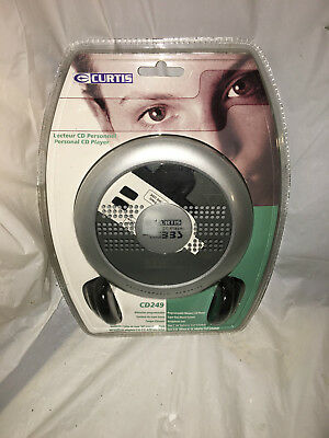Curtis Portable CD Player CD249 Bass Boost System Brand New Sealed!!