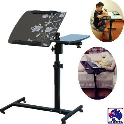 Simple Double Lazy Laptop Stand Holder Desk Adjustable Folding Portable HQTC900