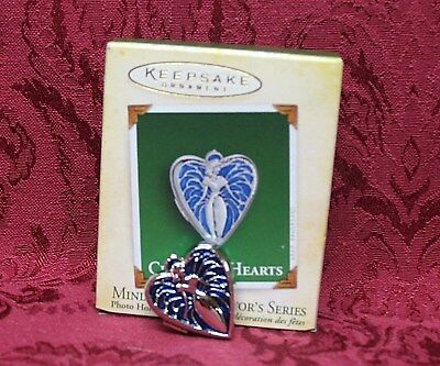 Hallmark 2005 Miniature Series Ornament~ #3 ~Charming Hearts
