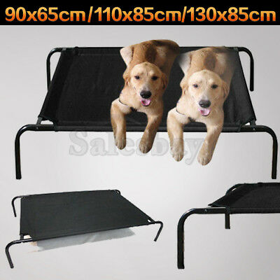 Heavy Duty Pet Dog Cat Bed Trampoline Hammock Cot with extra cover