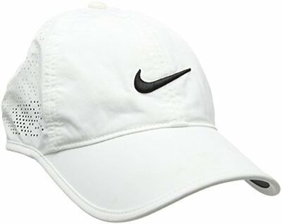 Nike Perf Visière Femme Blanc FR : Taille Unique (Taille Fabricant : Taille Uni